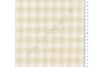 Tissu patchwork japonais tissé écossais rose et vert
