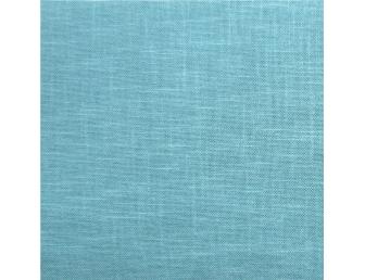 Tissu patchwork japonais tissé uni turquoise mer du sud