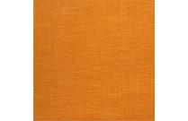 Tissu patchwork japonais tissé uni orange