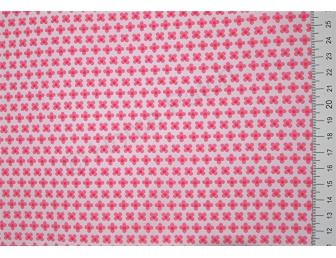 Tissu patchwork japonais LECIEN petites fleurs roses