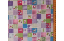 Tissu patchwork japonais Kokka couture