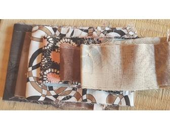 Lot chutes tissus japonais patchwork imprimés