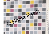 Tissu patchwork moderne Moda Chic Neutral mosaique