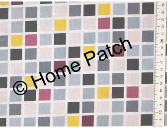 Tissu patchwork moderne Moda Chic Neutral mosaique