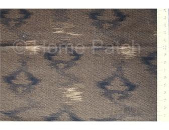 Tissu patchwork japonais LECIEN marron foncé