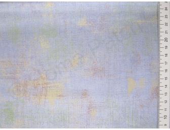 Tissu japonais patchwork MODA Grunge bleu et jaune