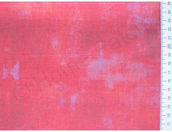 Tissu japonais patchwork MODA Grunge rouge framboise