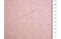 Tissu patchwork japonais motif géométrique étoile fond rose